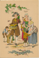 Illustrateur E. Naudy, Les Petits Métiers Au XVIII° : Le Marchand D' Oiseaux (1946) M. Barré & J. Dayez, 1359 X, 2 Scans - Naudy