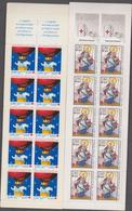 FRANCE 4 Carnets CROIX-ROUGE 1993 1996 1998 2002 Neufs Xx - N°YT  C2042 2045 2047 2051 - Carnets