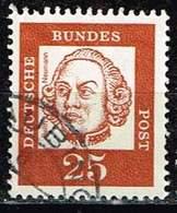 Bund 1961, Michel# 353 Y R O Mit Nr. - Rollenmarken