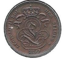 *belguim 1 Centime 1899  French Unc /fdc !!! - 1865-1909: Leopold II