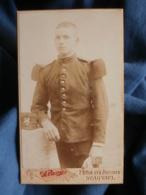 CDV Photo Pavie à Beauvais - Militaire Soldat Du 51e D'infanterie Circa 1900-10 L431 - Guerra, Militari