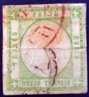 Italie Italy Italia Naples Napoli 1861 Victor Emmanuel II Yvert 10 O Used - Neapel