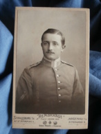 CDV Photo Rembrandt à Strasbourg , Haguenau I/e - Militaire Allemand Beau Portrait Circa 1900-10 L431 - War, Military