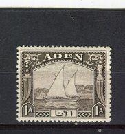 ADEN - Y&T N° 3* - Boutres - Aden (1854-1963)