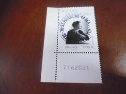 OBLITERATION RONDE  SUR TIMBRE GOMME ORIGINE LOUISE DE VILMORIN 5299 - Gebraucht