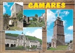 12 - CAMARES - Divers Aspects Du Village - Multi Vues - 4 Vues - Cpm - Vierge - - Francia