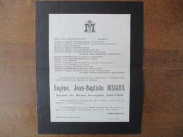 GROUGIS EUGENE,JEAN-BAPTISTE BISIAUX EPOUX DE DAME GEORGETTE LOUVOIS DECEDE A HAZEBROUCK LE 26 MARS 1956 DANS SA 70ème A - Décès