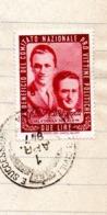 FRANCOBOLLO VITTIME POLITICHE - F.LLI VIGORELLI - £. 2 - 1.4.1947 - 6. 1946-.. Repubblica