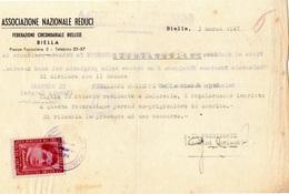 FRANCOBOLLO VITTIME POLITICHE - G.AMENDOLA - £. 2 - 3.3.1947 - 6. 1946-.. Repubblica
