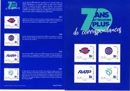 """2019 70 Ans De La RATP """" Régie Autonome Des Transports Parisiens"""" - Collectors"""