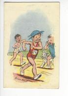 GERMAINE BOURET CALENDRIER PUBLICITE DIET + TILLY 1959 COURSE A PIED /FREE SHIPPING R - Calendarios