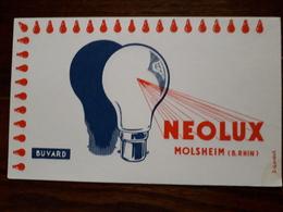 Buvard. Neolux. Molsheim - Electricité & Gaz