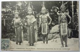 DANSEUSES FAVORITES DU ROI DU CAMBODGE - PNOM-PENH - Cambodge