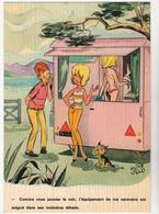 VIGNO André  Ed Borde N°91   - Humour Jumelles Camping Caravane - CPSM 10.5x15 BE  Neuve - Other Illustrators