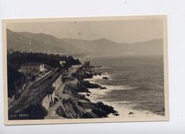 NERVI-STAZIONE FERROVIARIA-VIAGGIATA 1932 - Italy