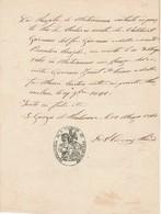 LETTERA Antica Del 1861 - PARROCCHIA SAN GIORGIO DI PORDENONE - Manoscritti