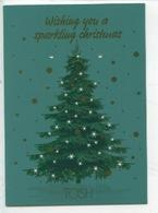 Tosh (Tosh.EU Bijoux) Wishing You A Sparkling Christmas (sapin De Noël étoiles Brillant - Voeux Joyeux Noël) Cp Vierge - Publicité