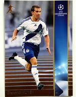 Olexandr Aliyev (RUS) Team Dynamo Kiev (UKR) - Official Trading Card Champions League 2008-2009, Panini Italy - Singles (Simples)