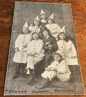 Etruscan Juvenile Pierrette Concert, Monday, October 21st 1918 At 7.30pm.  Chaiman S. Hammersley, Esq.  Admission - 9d - Entertainers