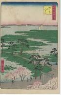CPA  ASIE - ASIA - DESSIN  A IDENTIFIER - PAYSAGE  - ECRIT EN JAPONAIS Ou CHINOIS ???? - Cartes Postales