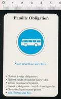 Voie Réservée Aux Bus / Transport Autobus Autocar - Humour   // IM 51/15 - Vieux Papiers