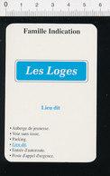 Lieu-dit Les Loges Panneau Route  // IM 51/15 - Vieux Papiers