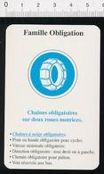 Chaines à Neige Obligatoires Pneus   // IM 51/15 - Vieux Papiers