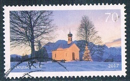 2017  Weihnachtliche Kapelle  (gezähnt) - [7] République Fédérale