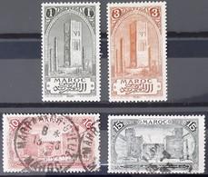 MAROC - N°63-65-67-68 - Neuf SANS Charnière ** / MNH Et Oblitéré (o) - Nuovi