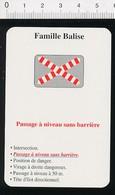 Passage à Niveau Sans Barrière Signalisation Train Chemin De Fer  // IM 51/15 - Vieux Papiers