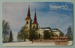 SLOVENIA - Chip - Telekom - 306 - 25 Units - 3991ex - 03/00 - Catez - Zaplaz - Glavni Oltar - Mint - Slovenia