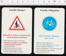 Piste Cyclable Et Débouché De Cycliste Humour Vélo Sur La Route // IM 51/15 - Vieux Papiers