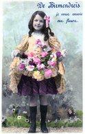 Algerie  -  Birmendreis - Je Vous Envoie Ces Fleurs - Rare ( Amincissement Au Dos + Reste De Carton Collé ) - Otras Ciudades