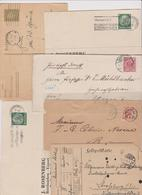 MONDE  LOT DE  65  Lettres, Cartes, Entiers Postaux  Avant 1940 - Sellos