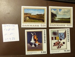 Danmark   Michel Nr:  1044 -45    1068 -69  Postfrisch MNH **  #4998 - Dänemark
