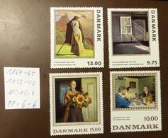 Danmark   Michel Nr:  1164 -65  1139 -40  Postfrisch MNH **  #4998 - Dänemark