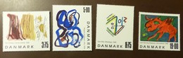 Danmark   Michel Nr:  1191 -94  Postfrisch MNH **  #4999 - Dänemark