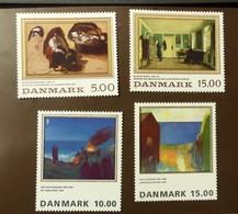 Danmark   Michel Nr:  1092 -93   1108 -09  Postfrisch MNH **  #4999 - Dänemark