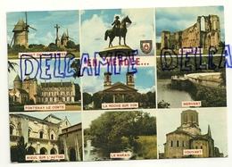 France. Vendée. La Vendée Touristique. Carte Mosaïque. 1979 Edition Du Vieux-Chouan. - Aizenay