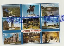 France. Vendée. La Vendée Pittoresque. Mosaïque. AS. Artaud Frères - Editeurs - Aizenay