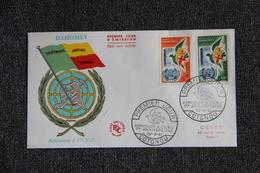 """FDC - DAHOMEY ,"""" Admission à L'O.N.U """" - COTONOU,  1er Anniversaire Le 20/09/1961. - Bénin – Dahomey (1960-...)"""