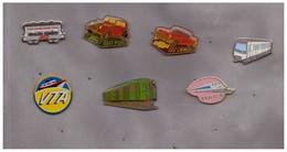 7 Pin's Variés. Moyens De Transport - Transport