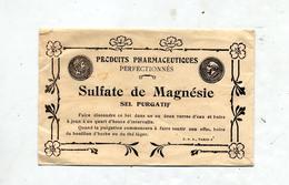 Sachet Sulfate De Magnesie  Pharmacie Sablon Paris - Autres Collections
