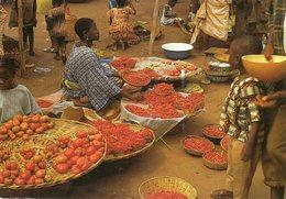 Tchad    Timbre Au Dos  Voir  Scan - Tchad