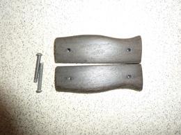 Plaquettes De Baionnette Française Berthier M1892, Bayonet Grips Berthier M1892 - Blankwaffen