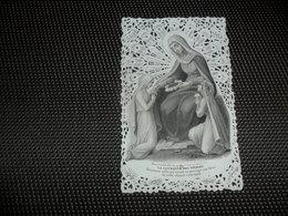 Devotieprentje ( G 794 ) Image Pieuse  Immaginette Sacre Image à Dentelles  Met Kant - Bouasse - Lebel , Paris - Devotion Images