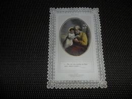Devotieprentje ( G 797 ) Image Pieuse  Immaginette Sacre Image à Dentelles  Met Kant - Imágenes Religiosas