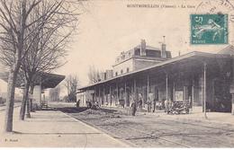 CPA 86 @ MONTMORILLON - La GARE En 1910 - Montmorillon
