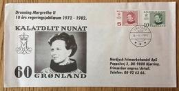 Gronland - Greenland 1972 - 1982, Cover Jubilee Queen Margrethe II, Kalatdlit Nunat - Groenland