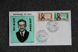 """FDC - MALI ,"""" Patrice LUMUMBA """" - BAMAKO , Le 12/02/1962. - Mali (1959-...)"""